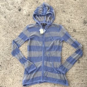 NWT Tommy Bahama zip up hoodie. XS